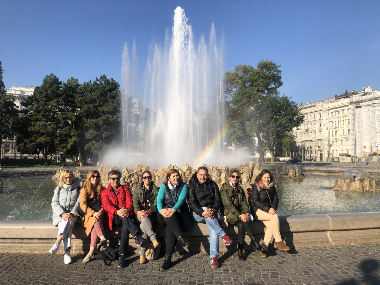 CUADERNO DE BITÁCORA: día 1 Madrid-Viena